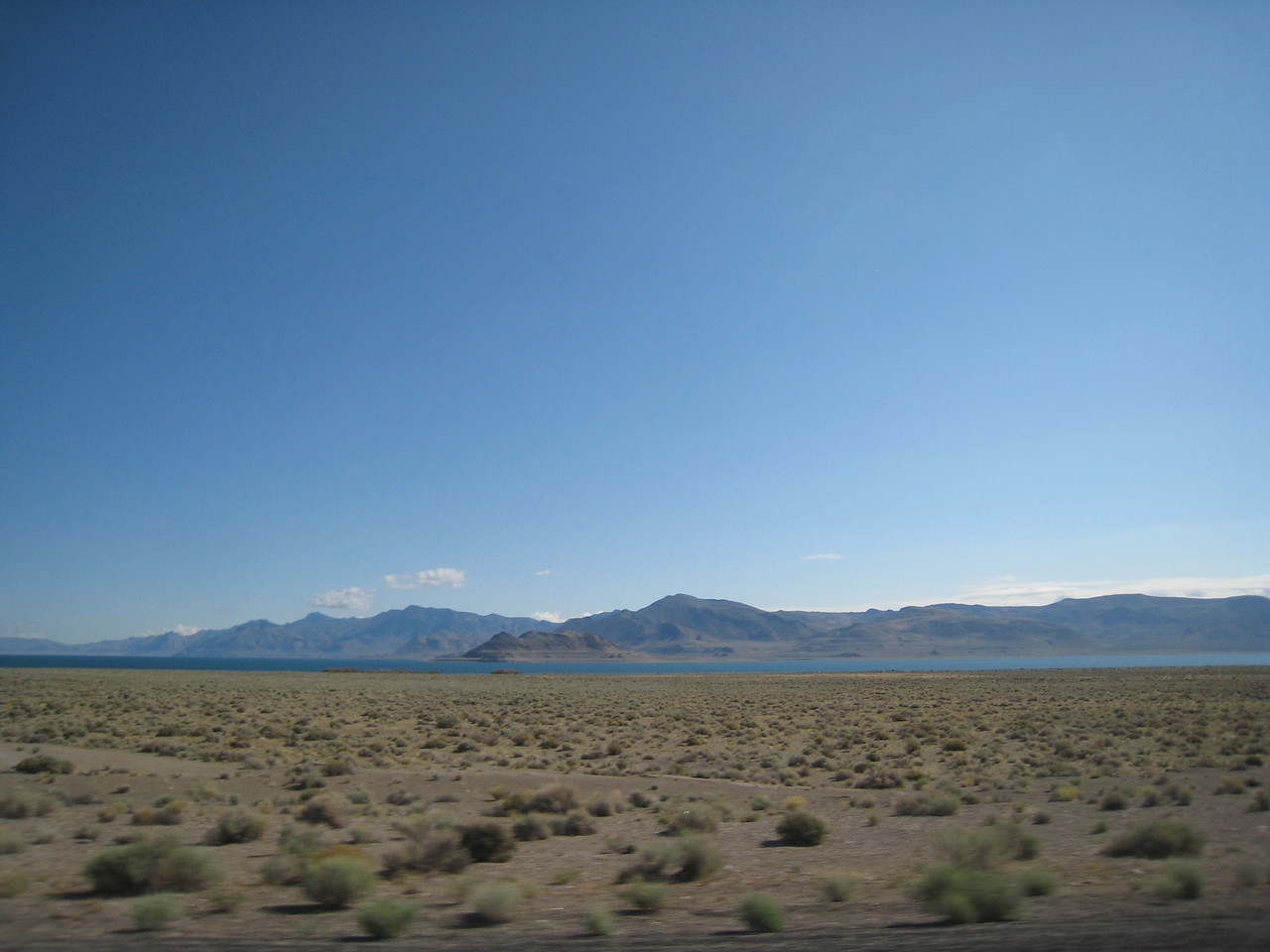 Some of the shapes that give Pyramid Lake its name.