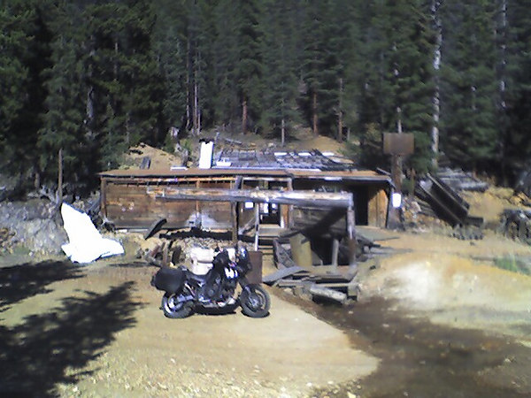 Crow Cabin on the way down from Webster pass