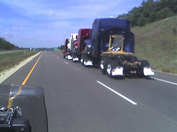 Trucks humping ?