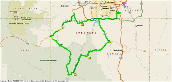 First, Second and Third Colorado Ride