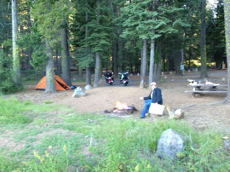 Campsite, Lake Almanor, CA