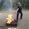 Firestarter Korene. At La Pine State Park, OR.