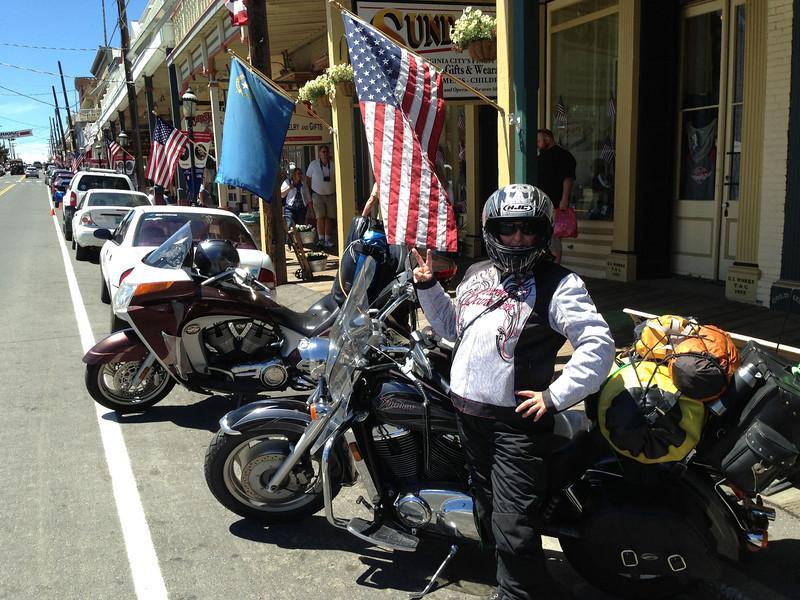 Main Street, Outside the Delta Saloon, Virginia City, NV