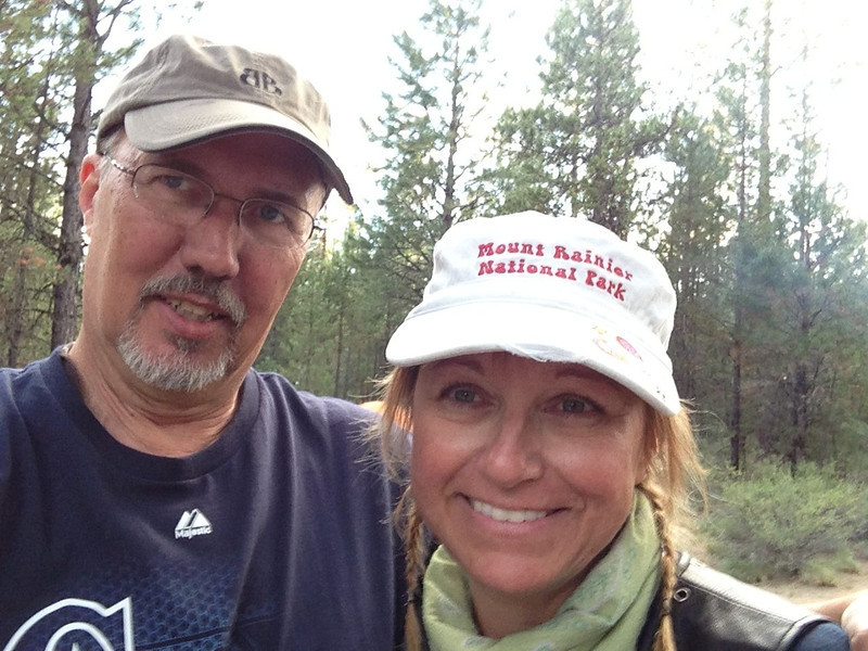 Happy Campers, La Pine State Park, OR