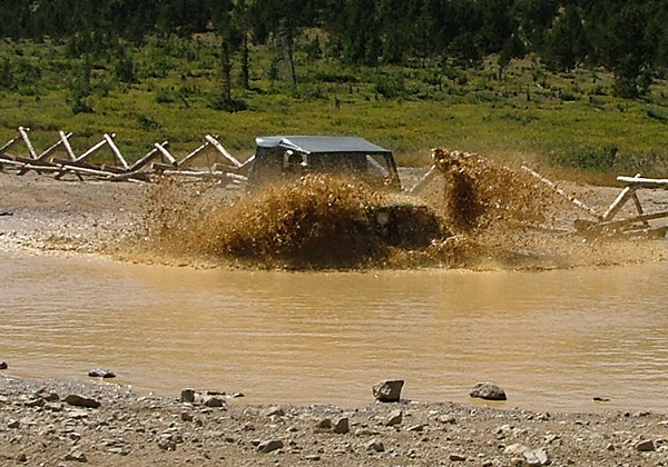 Jeeps love doing this.