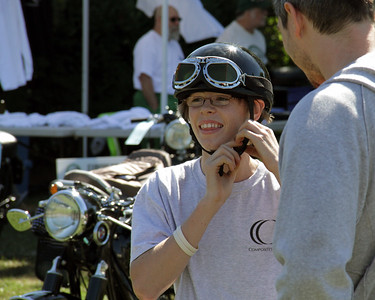 Larz Anderson Euro Motorcycle Day 2014