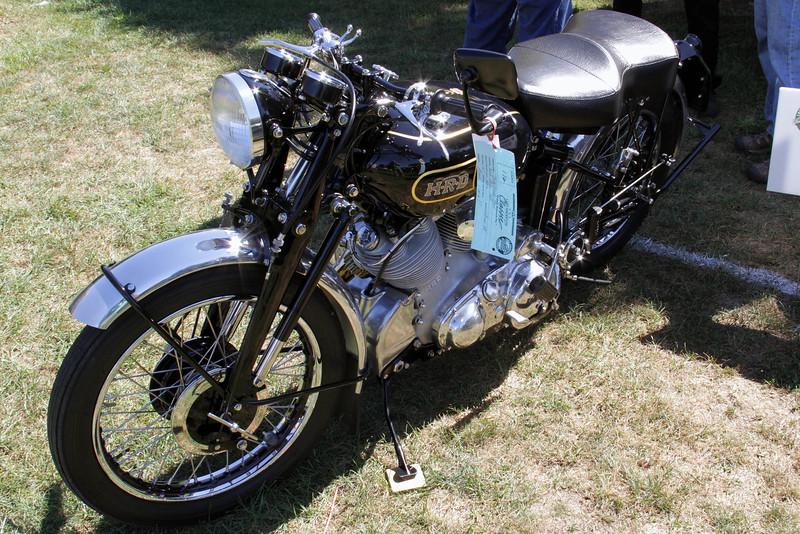 1948 HRD Motorcycle