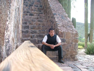 Me at the mission Mulege