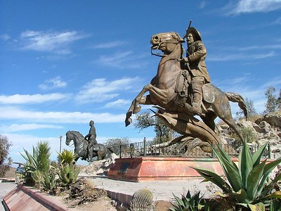 Zacatecas La Buffa and  Poncho Villa