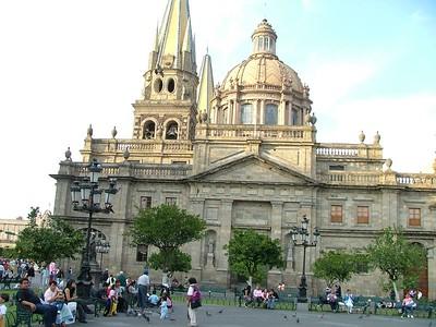 Guadalajara`s main Catherdral