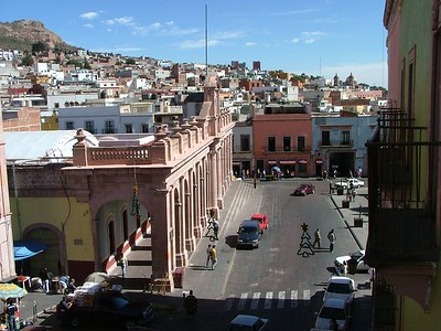 Zacatecas from my hotel room.