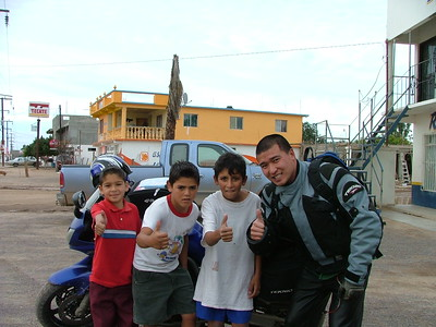 Kids say Yamaha Rules!  This is in a town before San Ignacio.  Name escapes me.