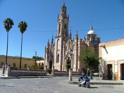 A small town south of Jerez.  Lots of theses churches all along the wonderful hwy 23 from Jerez to Guadalajara.
