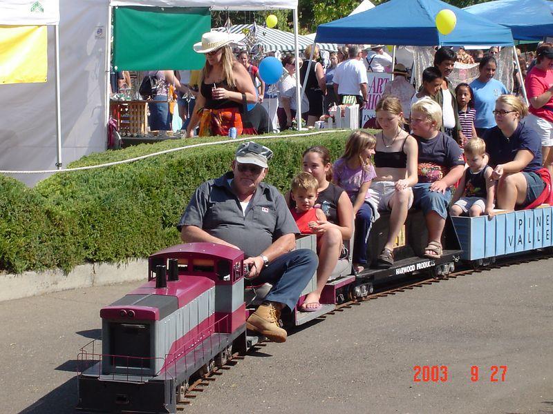 Train in Kelseyville