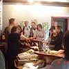 Wine tasting at Silver Sage Winery