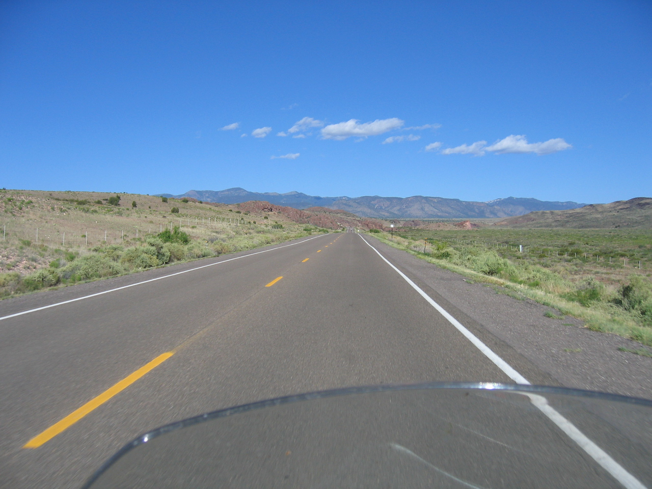 (Click on image to enlarge)<br /> <br /> Leaving Socorro, I head west, making my way towards Arizona.
