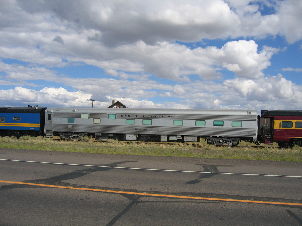 (Click on image to enlarge)<br /> <br /> A classic Pullman rail car.