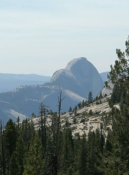 Half Dome from the Olmstead Overlook
