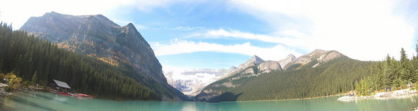I stitch together some pictures to get a panorama, but the program doesn't seem to work welll.