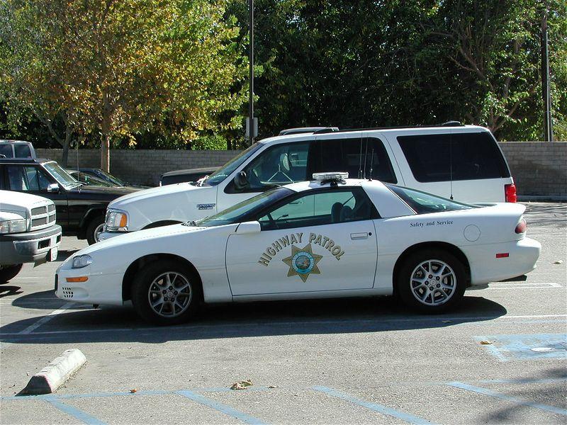 CHP's new stealth Camaro