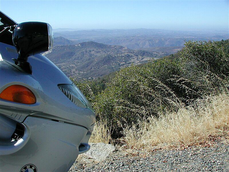 Nosing around Palomar Mountain