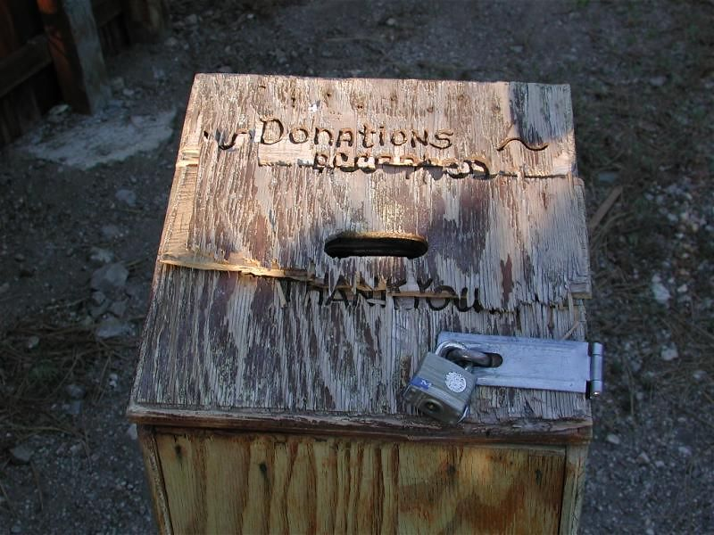 Donations for what?