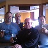 Four Guys Enjoying Mt. Emily Brewpub's best