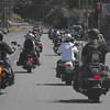 A small group of 20 bikes on the way to Joseph