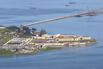 This, my friends, is the maximum security State Penitentiary, San Quentin.