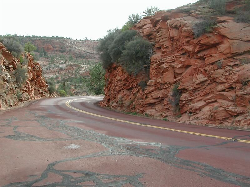 The red roads of Zion