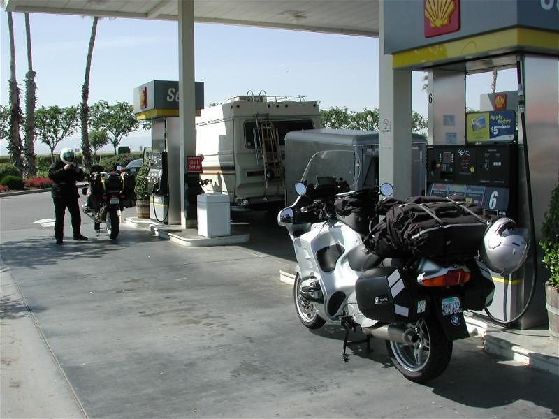 First gas stop in lovely Coalinga, CA