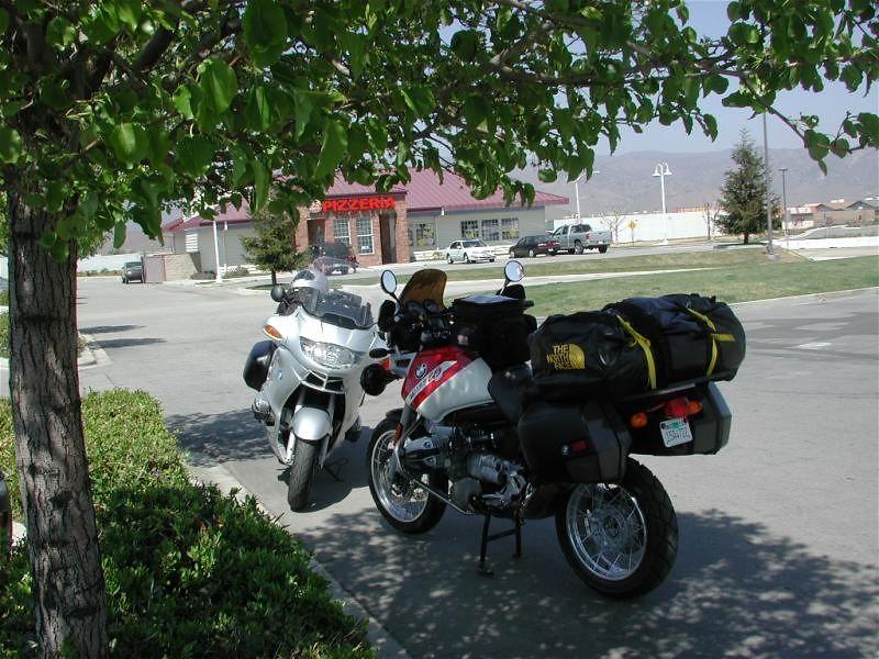 The next gas stop in Tehachapi, CA
