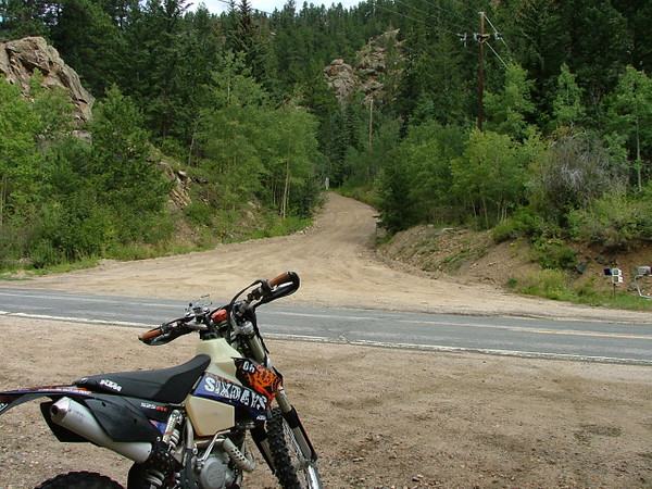 I went for a ride from Idaho Springs to Georgetowm via Ute Creek & Saxon Mountain