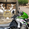 "The <a href=""http://www.thebucksnortsaloon.com/"">Buck Snort saloon</a> on Elk Creek Rd, above Pine, CO, off Pine Valley Rd/County Road 126."