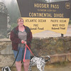Highest point of the journey - Hoosier Pass, CO, at 11,539 feet