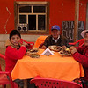 Pachamanca en La Oroya, Peru.