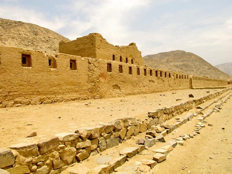Tambo Colorado, Inca ruins