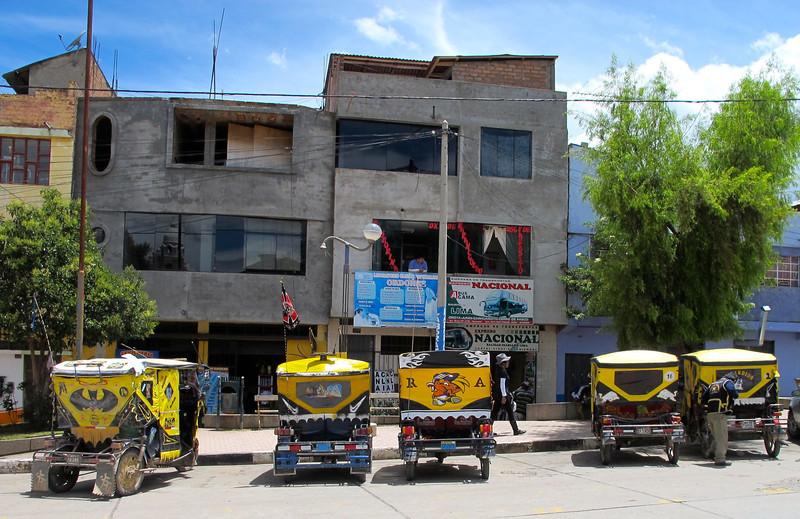 Mototaxis, Chupla, Peru