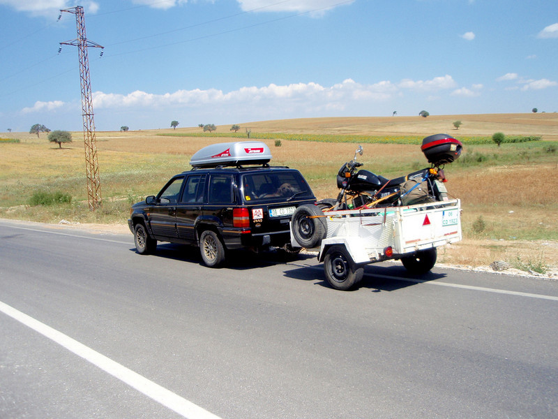 On the Road through the Antaolian Plain