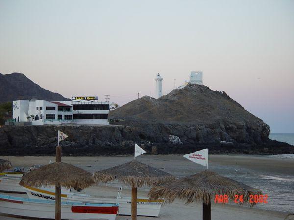 Light house at San Felipe