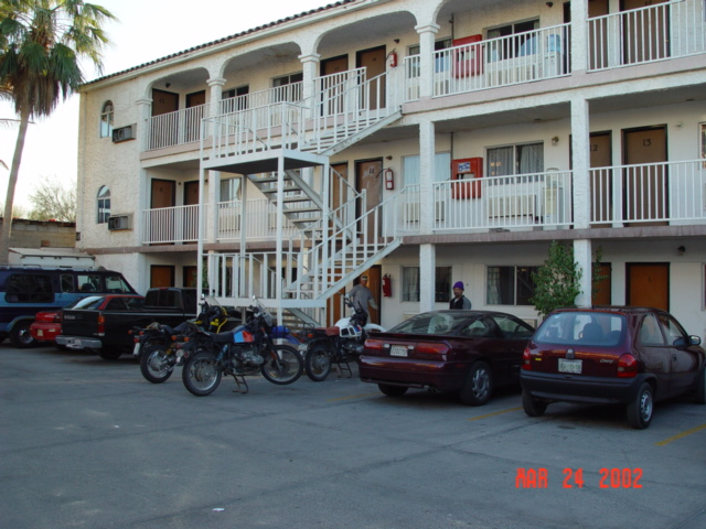 Hotel we stayed at