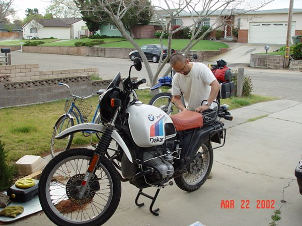 luis and his R80GSPD