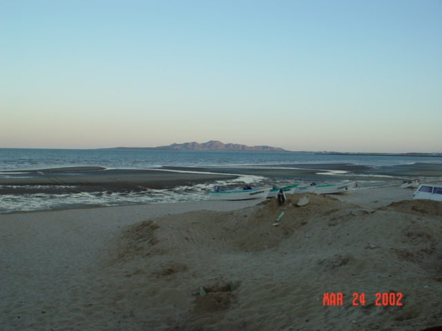 Beach at San Felipe