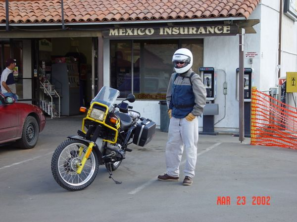 Tom and his R100GS