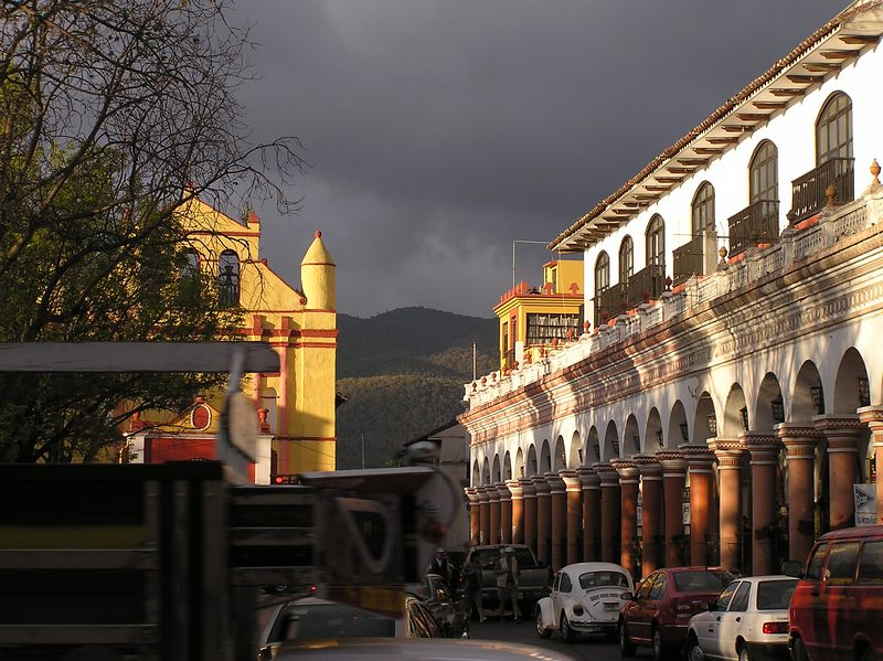 Evening, San Cristobal de Las Casas
