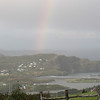 rainbow over Salmon Cove