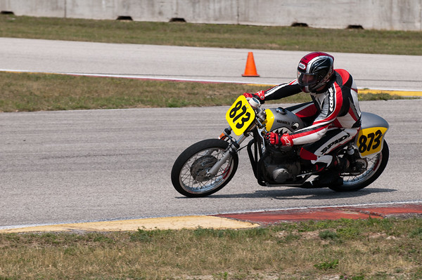 Road America AHRMA Vintage Motorcycle Racing June 8-10, 2012