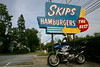Skip's has been in Merrimac, Mass since 1947, located right on Route 110, about a mile from the Merrimac / Amesbury border.  You can't miss the classic neon sign.  They claim their burgers are the best but the Suzy Q fries is what they are known for.  Basically just a curly fry, but the part that makes them good is that they cut them right there, fresh.