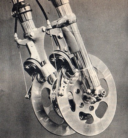 Funky Wonky old attempts to make Disc brakes that work..