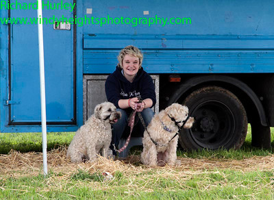 21-08-11, Paws for thought in the paddock at the Munster 100 Road Races at Timoleague. PHOTO: RICHARD HURLEY